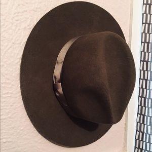 Lack of Color Brown Fedora Hat
